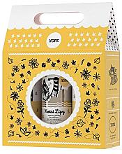Духи, Парфюмерия, косметика Zestaw - Yope Kwiat lipy (soap 500 ml + sh/gel 400 ml + balm 300 ml)