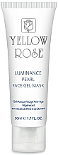 Духи, Парфюмерия, косметика Гелевая маска для лица с жемчугом, алмазной пудрой (туба) - Yellow Rose Luminance Pearl Face Gel Mask