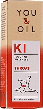Духи, Парфюмерия, косметика Смесь эфирных масел - You & Oil KI-Throat Touch Of Welness Essential Oil