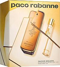 Духи, Парфюмерия, косметика Paco Rabanne 1 Million - Набор (edt/100ml + edt/20ml)