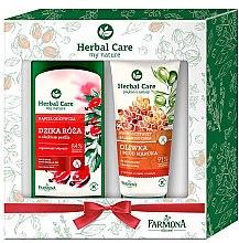 Духи, Парфюмерия, косметика Набор - Farmona Herbal Care(bath/milk/500ml + b/balm/200ml)