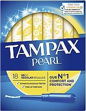 Духи, Парфюмерия, косметика Тампоны с аппликатором, 18шт - Tampax Pearl Regular