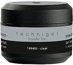 Духи, Парфюмерия, косметика Гель для фольги - Peggy Sage Technigel Transfer Foil Gel (Clear)