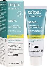 Духи, Парфюмерия, косметика Нормализующий увлажняющий крем для лица - Tolpa Dermo Sebio Face Cream