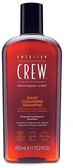 Шампунь для ежедневного использования - American Crew Daily Cleansing Shampoo — фото N3
