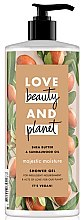 Духи, Парфюмерия, косметика Кремовый гель для душа - Love Beauty & Planet Shea Butter Shower Gel