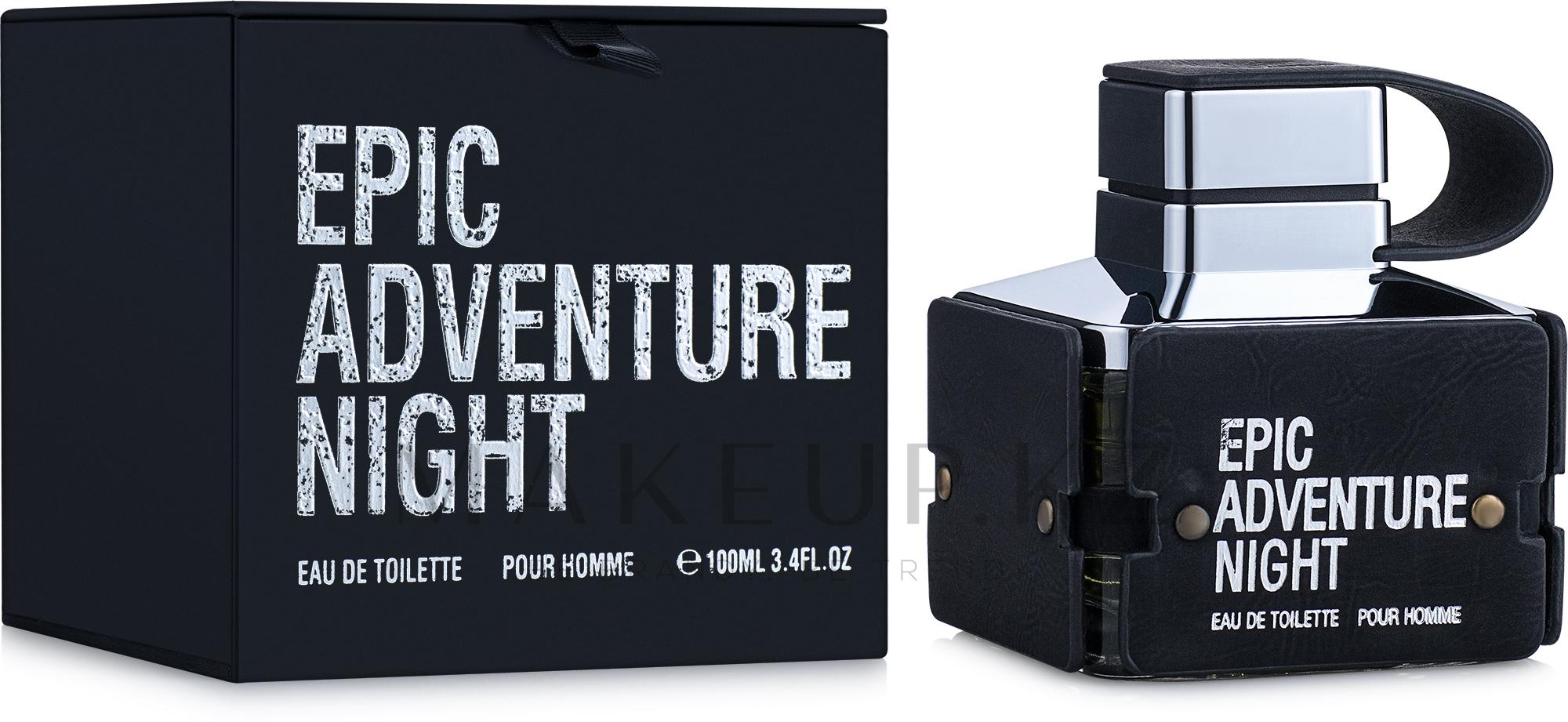 Emper Epic Adventure Night - Туалетная вода — фото 100 ml