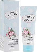 Духи, Парфюмерия, косметика Пенка для умывания - Esfolio Pure Skin Rose Cleansing Foam