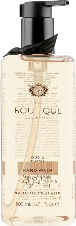 """Жидкое мыло для рук """"Уд и черная смородина"""" - Grace Cole Boutique Oud & Cassis Hand Wash — фото N1"""