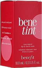 Жидкий пигмент для губ и щек - Benefit Benetint — фото N2