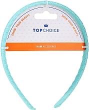 Духи, Парфюмерия, косметика Обруч для волос волнистый, 27888, голубой - Top Choice