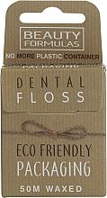 Духи, Парфюмерия, косметика Экологическая вощеная нить для зубов - Beauty Formulas Eco Friendly Dental Floss