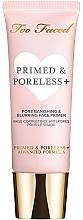 Духи, Парфюмерия, косметика Праймер под макияж - Too Faced  Primed & Poreless+ Pore Banishing And Blurring Face Primer