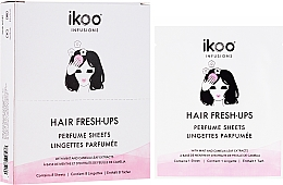 Духи, Парфюмерия, косметика Парфюмированные салфетки для волос - Ikoo Infusions Hair Fresh-Ups Parfume Sheets
