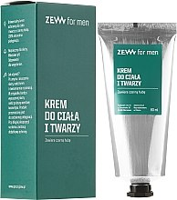 Духи, Парфюмерия, косметика Крем для лица и тела - Zew For Men Face And Body Cream