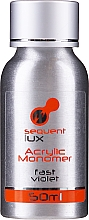 Духи, Парфюмерия, косметика Жидкое покрытие для акрила - Silcare Sequent Lux Acrylic Monomer Fast Violet