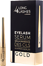 Духи, Парфюмерия, косметика Сыворотка, стимулирующая рост ресниц - Long4lashes EyeLash Gold Serum