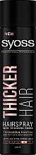 Духи, Парфюмерия, косметика Лак для волос с волокнами для утолщения волос экстрасильной фиксации - Syoss Thicker Hair