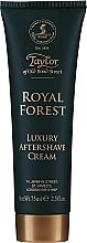 Духи, Парфюмерия, косметика Taylor of Old Bond Street Royal Forest Aftershave Cream - Крем после бритья