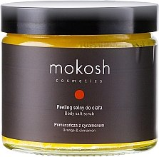 "Духи, Парфюмерия, косметика Скраб для тела ""Апельсин и корица"" - Mokosh Cosmetics Body Salt Scrub Orange & Cinnamon"