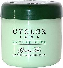 "Духи, Парфюмерия, косметика Крем для лица и шеи ""Зеленый чай"" - Cyclax Nature Pure Green Tea Face & Neck Cream"