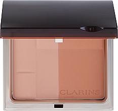 Духи, Парфюмерия, косметика Бронзирующая минеральная компактная пудра - Clarins Bronzing Duo Mineral Powder Compact SPF 15