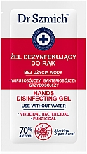 Духи, Парфюмерия, косметика Дезинфицирующий гель для рук - Dr. Szmich Hands Disinfecting Gel (пробник)