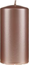 Духи, Парфюмерия, косметика Декоративная перламутровая свеча, 14 см, розово-золотыая - Artman Opal Candle