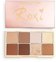 Духи, Парфюмерия, косметика Палетка для макияжа - Makeup Revolution Roxxsaurus Roxi Highlight & Contour Palette
