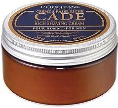 """Крем для бритья """"Можжевельник"""" - L'Occitane Cade Shaving Cream Men — фото N4"""