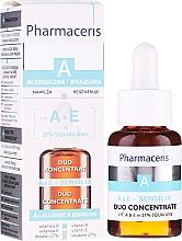 Духи, Парфюмерия, косметика Концентрат с витамином А и Е - Pharmaceris A A&E Sensilix Duo Concentrate