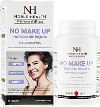 Духи, Парфюмерия, косметика Пищевая добавка для красивой кожи и волос - Noble Health No Make Up