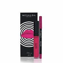 Духи, Парфюмерия, косметика Набор - Mesauda Milano Lip Kit (lipstick/7ml + lip pen/1.14g) (Donut)