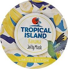 "Духи, Парфюмерия, косметика Маска для лица ""Банан"" - Marion Tropical Island Banana Jelly Mask"