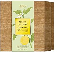 Духи, Парфюмерия, косметика Maurer & Wirtz 4711 Aqua Colognia Lemon & Ginger - Набор (col 170ml + soap/100g)