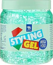 Духи, Парфюмерия, косметика Гель для моделирования волос - Tenex Styling Wetlook Green Gel