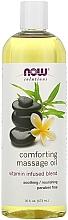 Духи, Парфюмерия, косметика Успокаивающее массажное масло - Now Foods Solutions Comforting Massage Oil