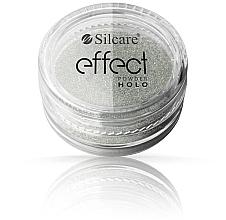 Духи, Парфюмерия, косметика Пудра для ногтей - Silcare Effect Powder Holo