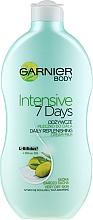 "Духи, Парфюмерия, косметика Молочко для тела ""Оливка"" - Garnier Body Hydration 7 Days Body Milk"
