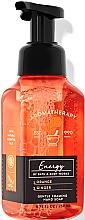 Духи, Парфюмерия, косметика Мыло-пена для рук - Bath and Body Works Aromatherapy Orange Ginger Gentle Foaming Hand Soap