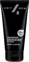 Духи, Парфюмерия, косметика Парфюмированный шампунь для бороды - Unit4Men Citrus&Musk Perfumed Beard Shampoo