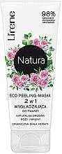 Духи, Парфюмерия, косметика Маска-пилинг для лица - Lirene Natura Eco Peeling-Mask
