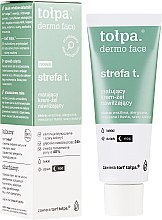 Духи, Парфюмерия, косметика Матирующий гель-крем для лица - Tolpa Dermo Face Strefa T Mattifying Face Gel-Cream