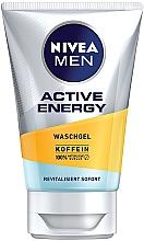 """Духи, Парфюмерия, косметика Гель для умывания """"Заряд энергии"""" - Nivea Men Active Energy Caffeine Face Wash Gel"""