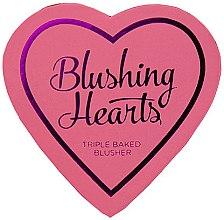 Духи, Парфюмерия, косметика Румяна - I Heart Revolution Blushing Hearts Blusher