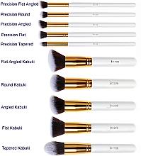 Набор кистей для макияжа, T065, 10шт - Jessup — фото N2