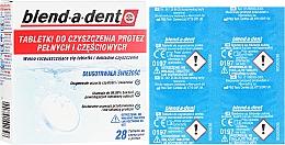 Духи, Парфюмерия, косметика Чистящие таблетки для зубных протезов - Blend-A-Dent