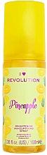 Духи, Парфюмерия, косметика Спрей фиксирующий макияж - I Heart Revolution Fixing Spray Pineapple