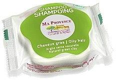 """Духи, Парфюмерия, косметика Твердый биошампунь для жирных волос """"Зеленая глина"""" - Ma Provence Shampoo"""