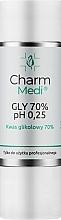 Духи, Парфюмерия, косметика Гликолевая кислота 70% - Charmine Rose Charm Medi GLY 70% pH 0.25